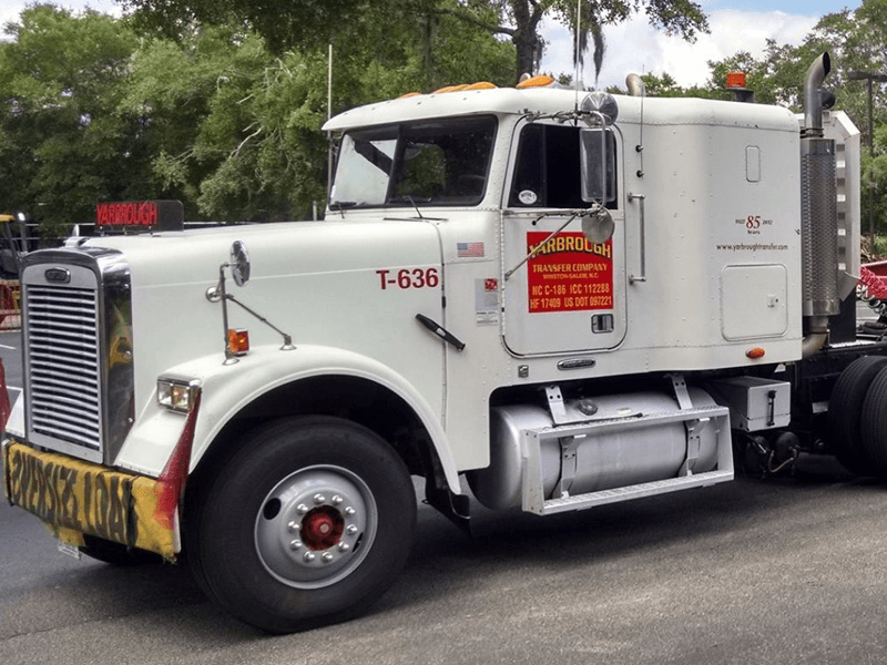 YTC Freightliner Truck | Yarbrough Transfer Company